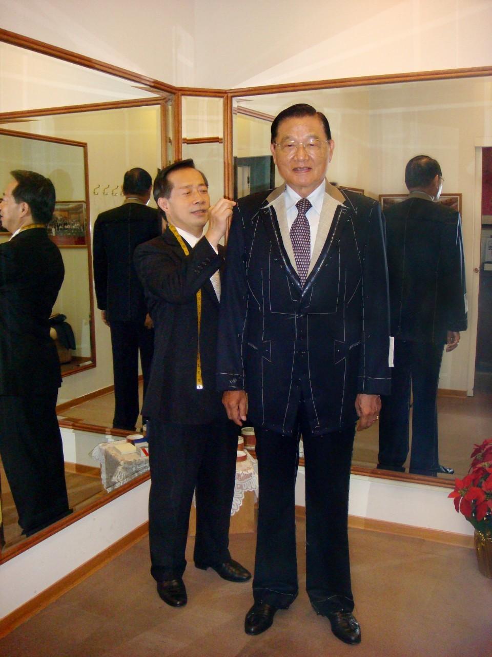 前海基會董事長 江丙坤先生